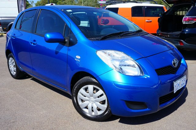 Used Toyota Yaris NCP90R MY09 YR, 2009 Toyota Yaris NCP90R MY09 YR Blue 4 Speed Automatic Hatchback