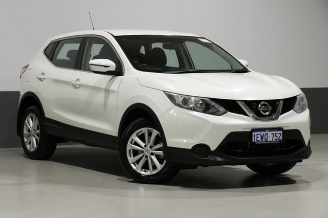 Used Nissan Qashqai J11 ST, 2016 Nissan Qashqai J11 ST Ivory Pearl Continuous Variable Wagon