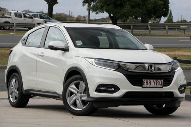 Demo Honda HR-V MY18 VTi-S, 2018 Honda HR-V MY18 VTi-S White Orchid 1 Speed Constant Variable Hatchback