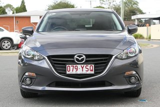 2016 Mazda 3 BM5438 SP25 SKYACTIV-Drive Meteor Grey 6 Speed Sports Automatic Hatchback