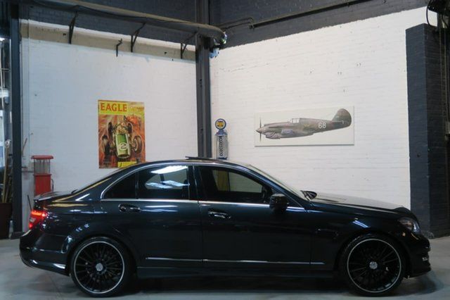 Used Mercedes-Benz C250 CDI W204 MY13 Avantgarde 7G-Tronic +, 2013 Mercedes-Benz C250 CDI W204 MY13 Avantgarde 7G-Tronic + Black 7 Speed Sports Automatic Sedan
