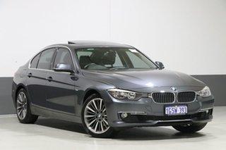 2014 BMW 320i F30 MY15 Luxury Line Mineral Grey 8 Speed Automatic Sedan.