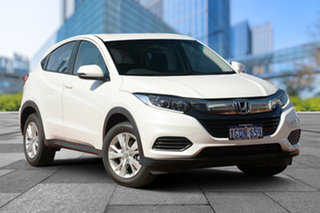 2018 Honda HR-V MY18 VTi White Orchid 1 Speed Constant Variable Hatchback.