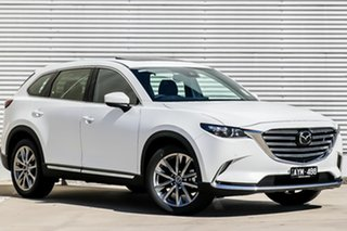 2019 Mazda CX-9 TC GT SKYACTIV-Drive Snowflake White Pearl 6 Speed Sports Automatic Wagon.