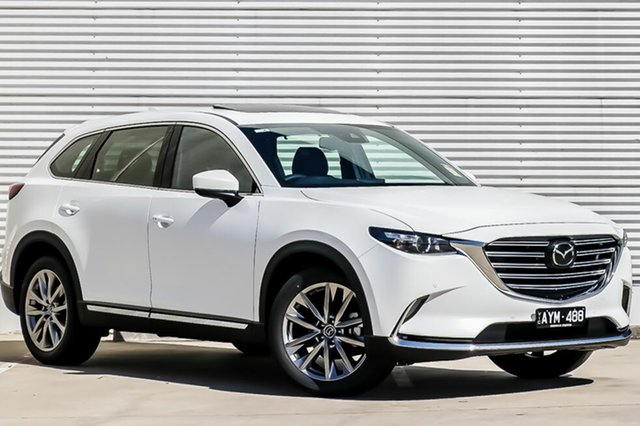 Demo Mazda CX-9 TC GT SKYACTIV-Drive, 2019 Mazda CX-9 TC GT SKYACTIV-Drive Snowflake White Pearl 6 Speed Sports Automatic Wagon