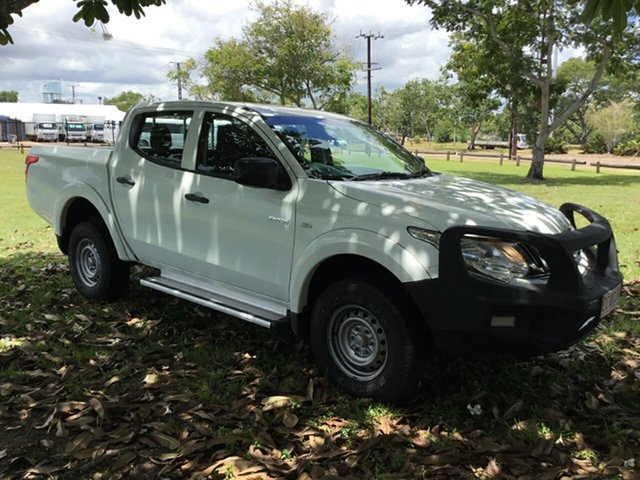 Used Mitsubishi Triton MN MY15 GLX (4x4), 2015 Mitsubishi Triton MN MY15 GLX (4x4) White 4 Speed Automatic 4x4 Double Cab Utility