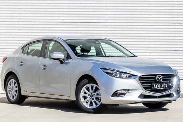 Demo Mazda 3 BN5278 Maxx SKYACTIV-Drive Sport, 2018 Mazda 3 BN5278 Maxx SKYACTIV-Drive Sport Sonic Silver 6 Speed Sports Automatic Sedan