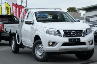 2019 Nissan Navara D23 S3 RX 4x2 Polar White 6 Speed Manual Cab Chassis.