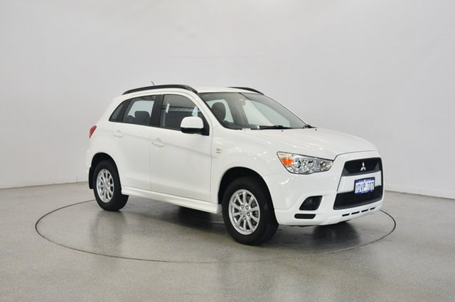 Used Mitsubishi ASX XB MY13 2WD, 2012 Mitsubishi ASX XB MY13 2WD White 6 Speed Constant Variable Wagon