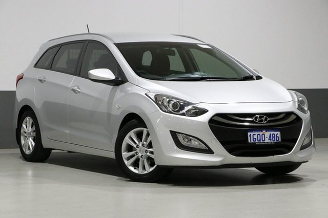 Used Hyundai i30 GD Tourer Active 1.6 GDi, 2014 Hyundai i30 GD Tourer Active 1.6 GDi Silver 6 Speed Automatic Wagon