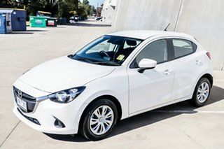 2018 Mazda 2 DJ2HAA Neo SKYACTIV-Drive Snowflake White Pearl 6 Speed Sports Automatic Hatchback.