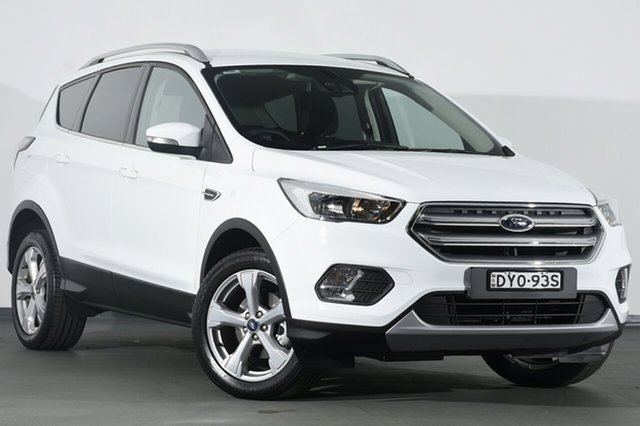 Used Ford Escape ZG 2018.00MY Trend 2WD, 2018 Ford Escape ZG 2018.00MY Trend 2WD White 6 Speed Sports Automatic SUV