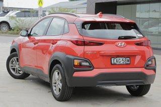 2018 Hyundai Kona Active Tangerine Comet 6 Speed Automatic Hatchback.