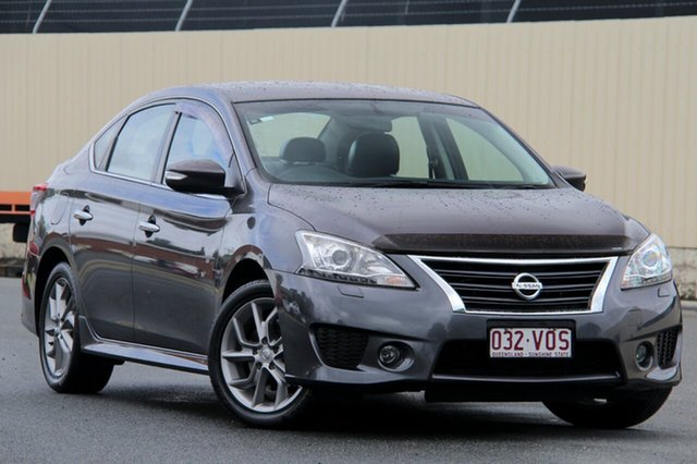 Used Nissan Pulsar B17 Series 2 SSS, 2015 Nissan Pulsar B17 Series 2 SSS Storm Grey 6 Speed Manual Sedan