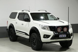 2015 Nissan Navara NP300 D23 ST-X (4x4) White 6 Speed Manual Dual Cab Utility