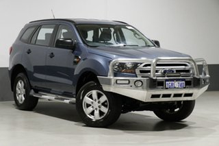 2015 Ford Everest UA Ambiente Blue 6 Speed Automatic Wagon.