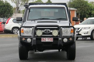 2013 Toyota Landcruiser VDJ79R MY13 GXL Silver 5 Speed Manual Cab Chassis