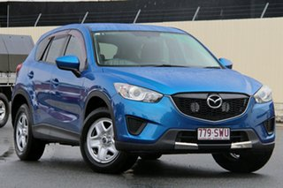 2012 Mazda CX-5 KE1071 Maxx SKYACTIV-MT Sky Blue 6 Speed Manual Wagon.