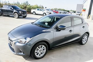 2016 Mazda 2 DJ2HAA Maxx SKYACTIV-Drive Metropolitan Grey 6 Speed Sports Automatic Hatchback.