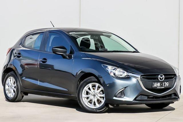 Used Mazda 2 DJ2HAA Maxx SKYACTIV-Drive, 2016 Mazda 2 DJ2HAA Maxx SKYACTIV-Drive Metropolitan Grey 6 Speed Sports Automatic Hatchback