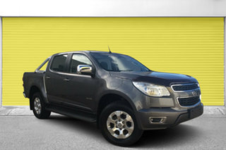 2012 Holden Colorado RG MY13 LTZ Crew Cab Grey 6 Speed Sports Automatic Utility.