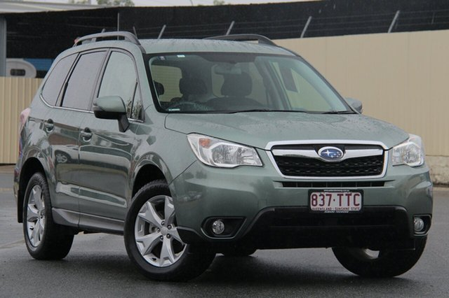 Used Subaru Forester S4 MY14 2.5i-L Lineartronic AWD, 2014 Subaru Forester S4 MY14 2.5i-L Lineartronic AWD Green 6 Speed Constant Variable Wagon