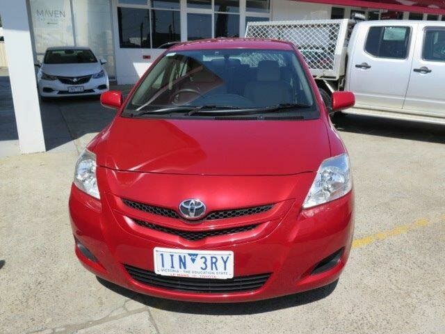 Used Toyota Yaris NCP93R YRS, 2007 Toyota Yaris NCP93R YRS Red 4 Speed Automatic Sedan