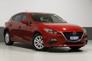 2014 Mazda 3 BM Touring Soul Red 6 Speed Automatic Hatchback.