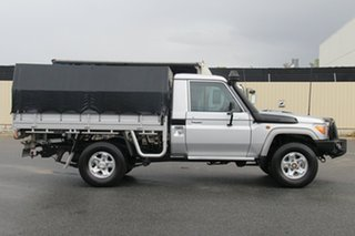 2013 Toyota Landcruiser VDJ79R MY13 GXL Silver 5 Speed Manual Cab Chassis.