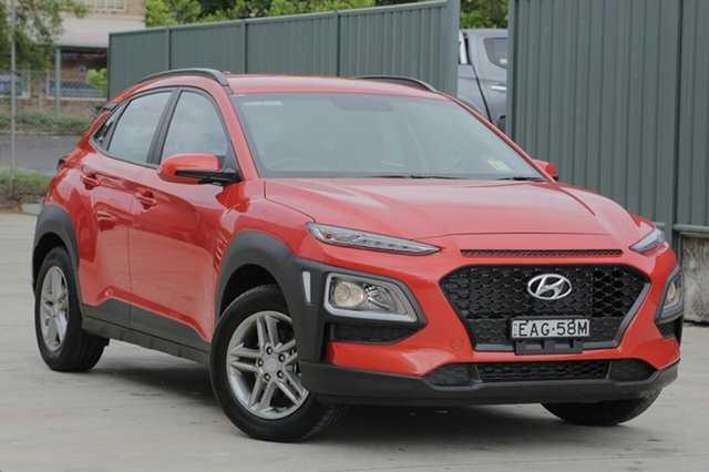 Demo Hyundai Kona  Active, 2018 Hyundai Kona Active Tangerine Comet 6 Speed Automatic Hatchback