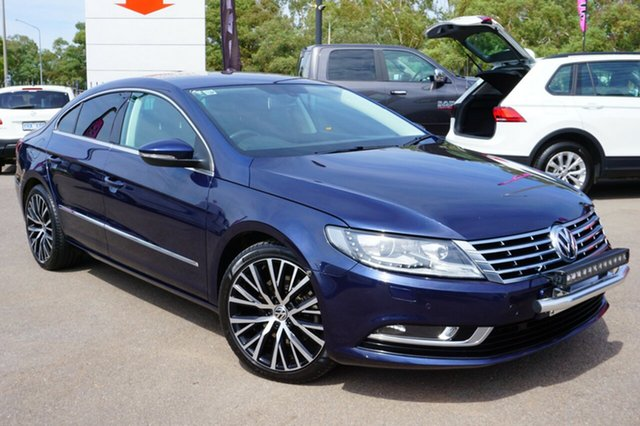 Used Volkswagen CC Type 3CC MY13 125TDI DSG, 2012 Volkswagen CC Type 3CC MY13 125TDI DSG Night Blue 6 Speed Sports Automatic Dual Clutch Coupe