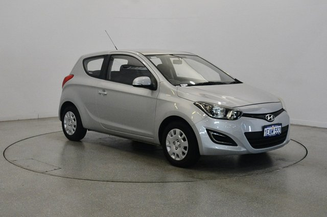 Used Hyundai i20 PB MY13 Active, 2012 Hyundai i20 PB MY13 Active Silver 4 Speed Automatic Hatchback