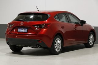 2014 Mazda 3 BM Touring Soul Red 6 Speed Automatic Hatchback