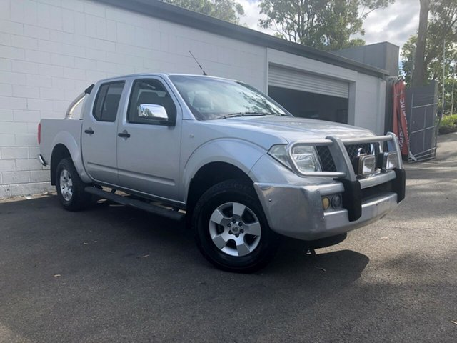 Used Nissan Navara D40 ST-X, 2006 Nissan Navara D40 ST-X Metallic Silver 6 Speed Manual Utility