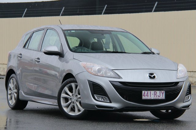 Used Mazda 3 BL10L1 MY10 SP25 Activematic, 2010 Mazda 3 BL10L1 MY10 SP25 Activematic Aluminium 5 Speed Sports Automatic Hatchback