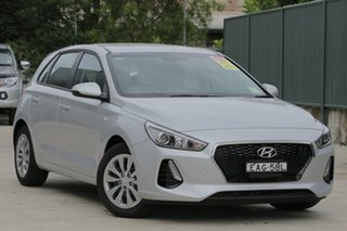 2018 Hyundai i30 Go Platinum Silver Metallic 6 Speed Automatic Hatchback.