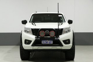 2015 Nissan Navara NP300 D23 ST-X (4x4) White 6 Speed Manual Dual Cab Utility.