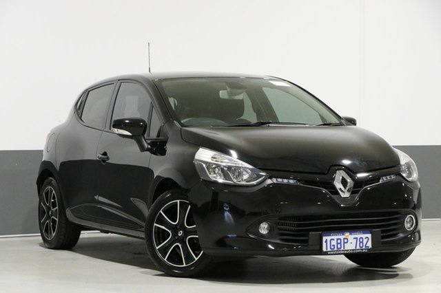 Used Renault Clio X98 Expression, 2016 Renault Clio X98 Expression Black 6 Speed Automated Manual Hatchback