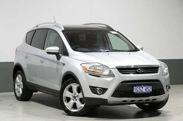 Used Ford Kuga TE Titanium, 2012 Ford Kuga TE Titanium Silver 5 Speed Automatic Wagon