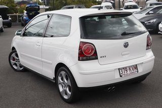 2007 Volkswagen Polo 9N MY2008 GTi Candy White 5 Speed Manual Hatchback.