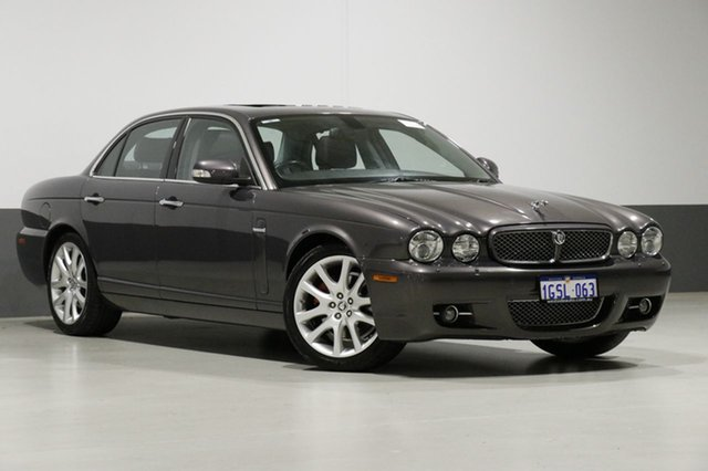 Used Jaguar XJ8 XJ350 MY08 3.5, 2008 Jaguar XJ8 XJ350 MY08 3.5 Grey 6 Speed Automatic Sedan