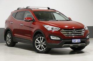 2014 Hyundai Santa Fe DM Elite CRDi (4x4) Red 6 Speed Automatic Wagon.