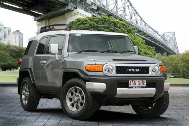 Used Toyota FJ Cruiser GSJ15R , 2012 Toyota FJ Cruiser GSJ15R Grey 5 Speed Automatic Wagon