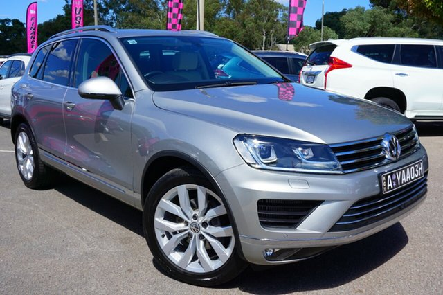 Used Volkswagen Touareg 7P MY18 V6 TDI Tiptronic 4MOTION, 2018 Volkswagen Touareg 7P MY18 V6 TDI Tiptronic 4MOTION Tungsten Silver 8 Speed Sports Automatic