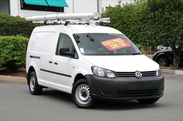 Used Volkswagen Caddy 2KN MY15 TDI250 BlueMOTION Maxi, 2014 Volkswagen Caddy 2KN MY15 TDI250 BlueMOTION Maxi White 5 Speed Manual Van