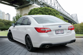 2017 Subaru Liberty B6 MY18 2.5i CVT AWD Premium White Crystal 6 Speed Constant Variable Sedan.