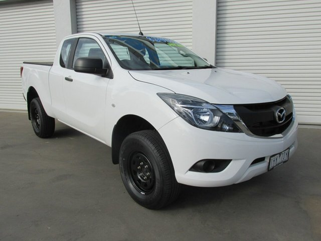 Used Mazda BT-50 UR0YF1 XT Freestyle, 2016 Mazda BT-50 UR0YF1 XT Freestyle White 6 Speed Sports Automatic Cab Chassis