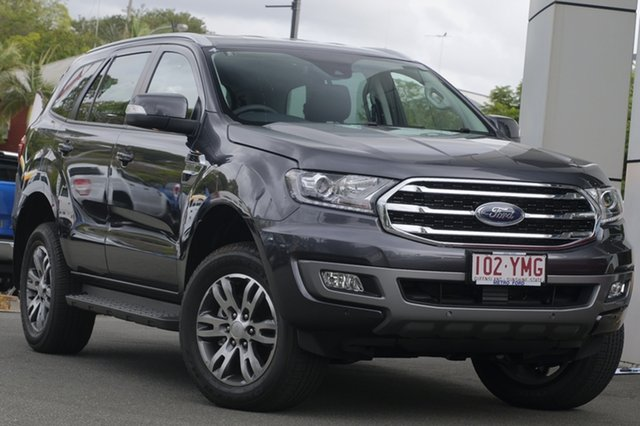 Demo Ford Everest UA II 2019.00MY Trend 4WD, 2018 Ford Everest UA II 2019.00MY Trend 4WD Meteor Grey 6 Speed Sports Automatic Wagon