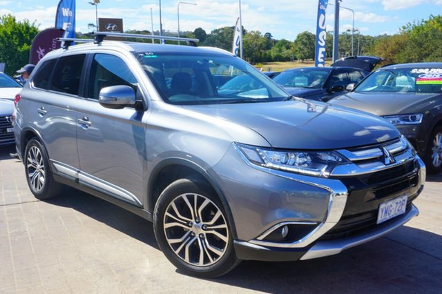 Used Mitsubishi Outlander ZJ MY14.5 ES 2WD, 2015 Mitsubishi Outlander ZJ MY14.5 ES 2WD Grey 6 Speed Constant Variable Wagon