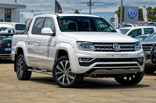 Demo Volkswagen Amarok 2H MY19 TDI580 4MOTION Perm Ultimate, 2018 Volkswagen Amarok 2H MY19 TDI580 4MOTION Perm Ultimate Candy White 8 Speed Automatic Utility